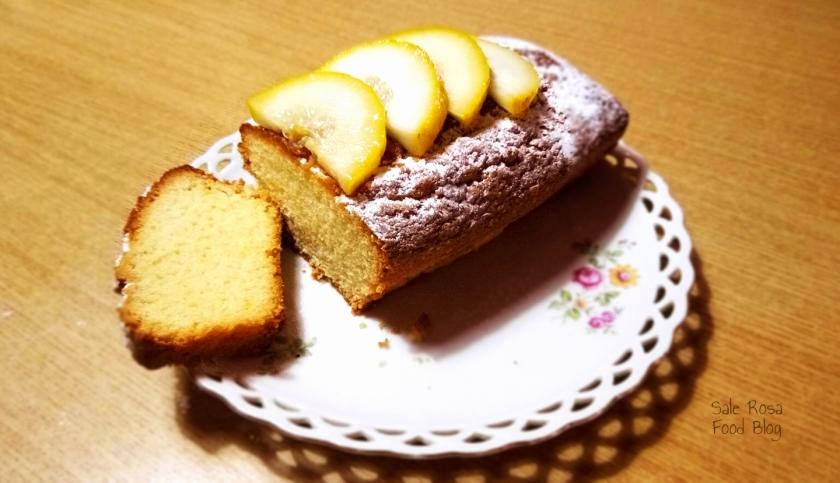 Plum cake al limone senza lattosio