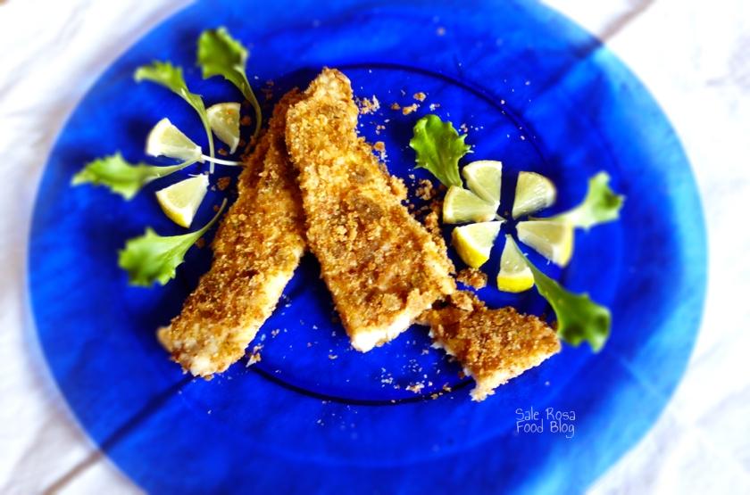 Filetto di sogliola con panatura integrale e zenzero