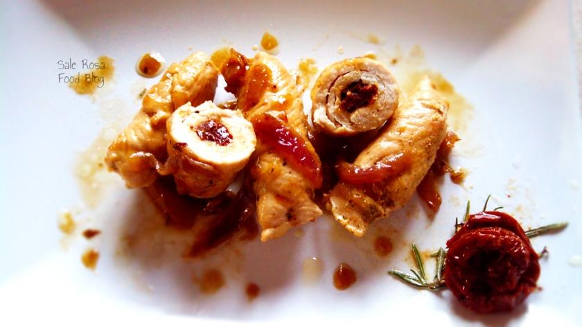 Involtini di pollo e pomodori secchi