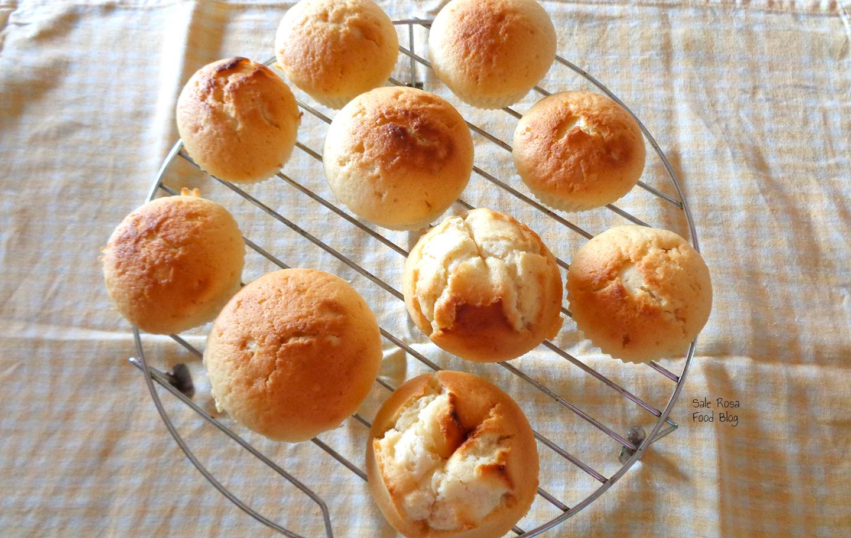 Muffin limone e latte di cocco
