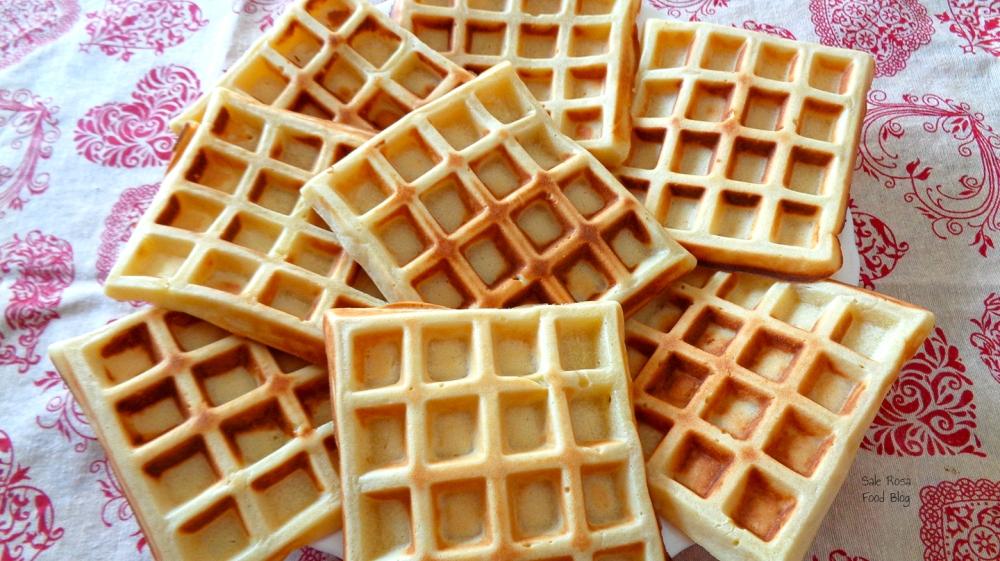 Waffle appena preparati