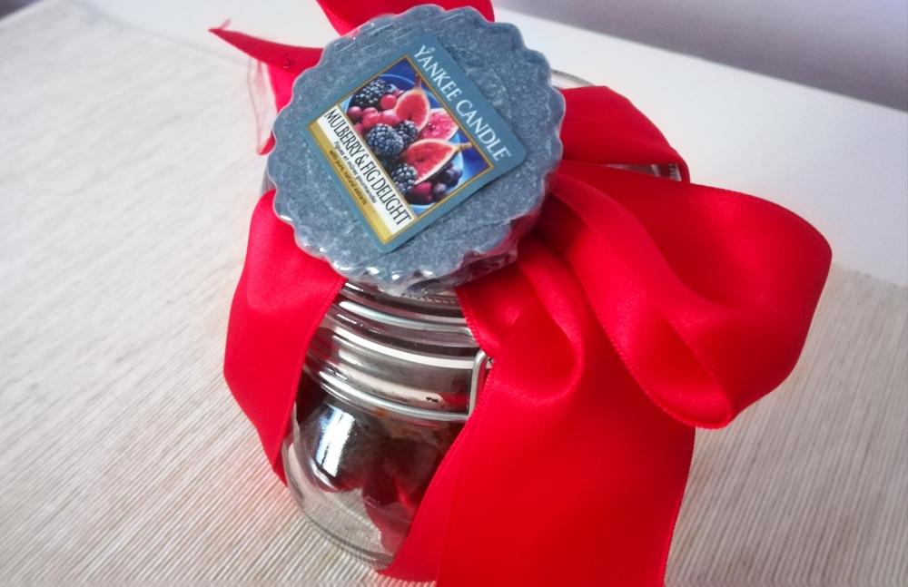 idea regalo per i muffin al cioccolato cannella e arancia senza lattosio