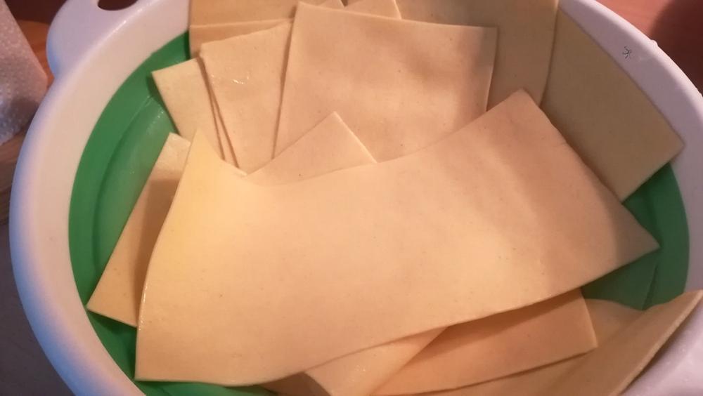 Lasagne sbollentate