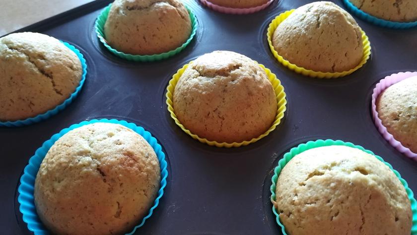 Preparazione muffin al pistacchio