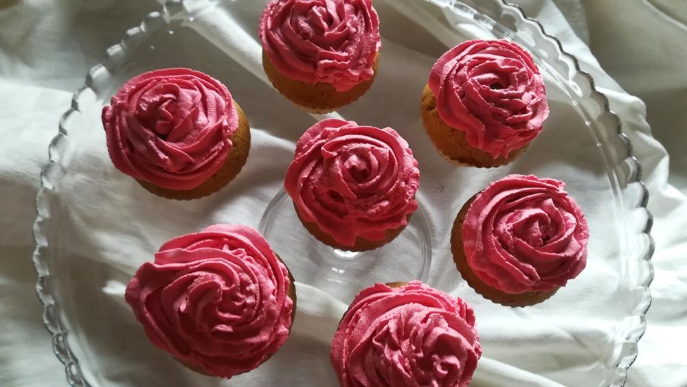 Cupcake rosa per la festa della mamma