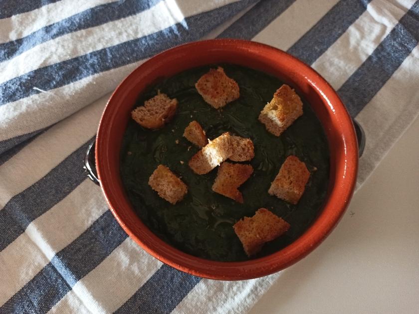 Crema di patate e cavolo nero