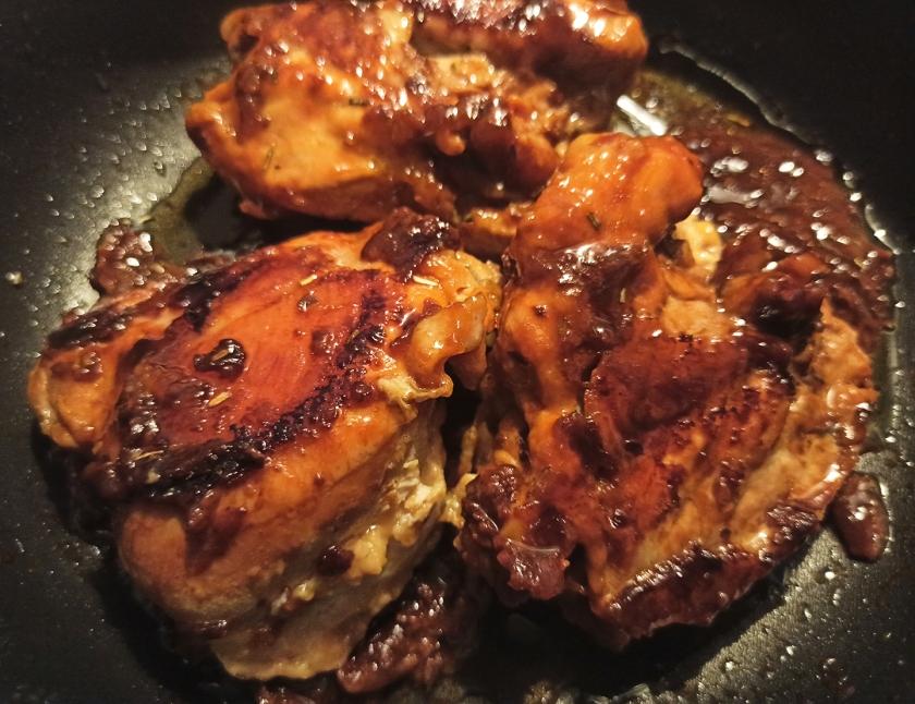 Pollo in agrodolce