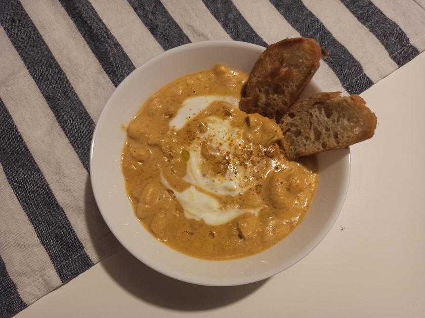 Curry di cannellini
